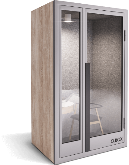 obox plus booth - wood